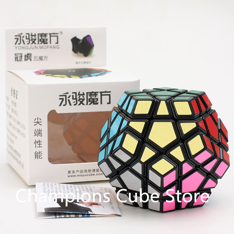 Precise Newest Yj Guanhu 3x3 Dodecahedron Magic Cube Brain Teaser Professional Learning Educational Toys Special Toys 3x3 Speed Cube Cool In Summer And Warm In Winter Magic Cubes