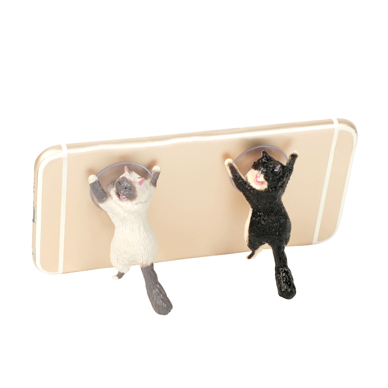 1pc Gift Cute Cat Phone Holder Stand - Universal Stand For $4.99 Wow 1