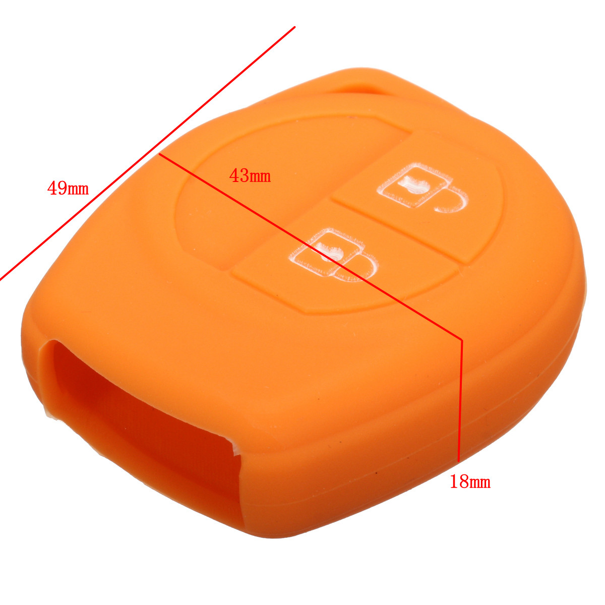 Image 5 - 16 Color Silicone 2 Button Remote Key Case Fob Protect Cover For Suzuki /SX4 /Swift /Vitara-in Key Case for Car from Automobiles & Motorcycles