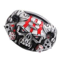 Модная мужская металлическая пряжка для ремня в стиле панк рок