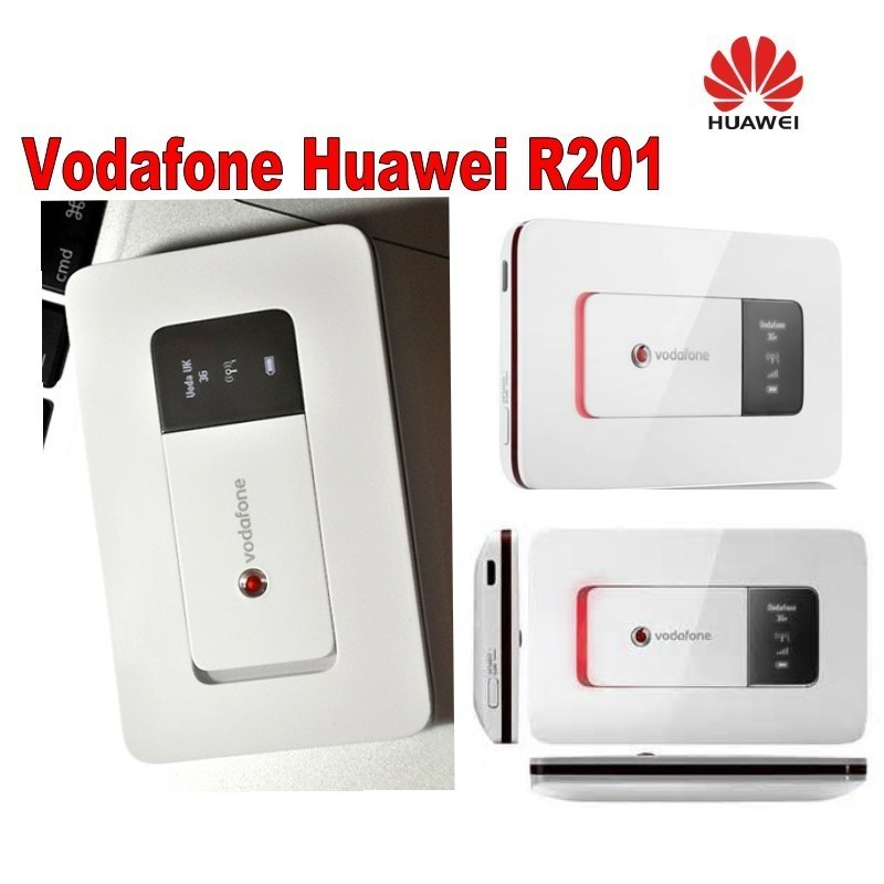 Lot of 4pcs Vodafone R201 router with SIM card slot