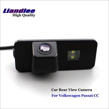 Liandlee Car Rearview Reverse Camera For Volkswagen Passat CC Backup Parking Rear View Camera / Integrated High Quality new high quality rear view backup camera parking assist camera for toyota 86790 42030 8679042030