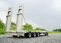 Metal Trailer Plate 887.6*190*78MM for LESU TAMIYA 1/14 RC Truck Model Car