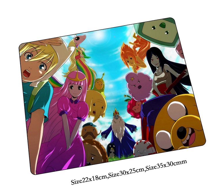 Adventure Time mouse pad hot sales pad to mouse notbook computer mousepad cute gaming padmouse gamer to laptop mouse mats