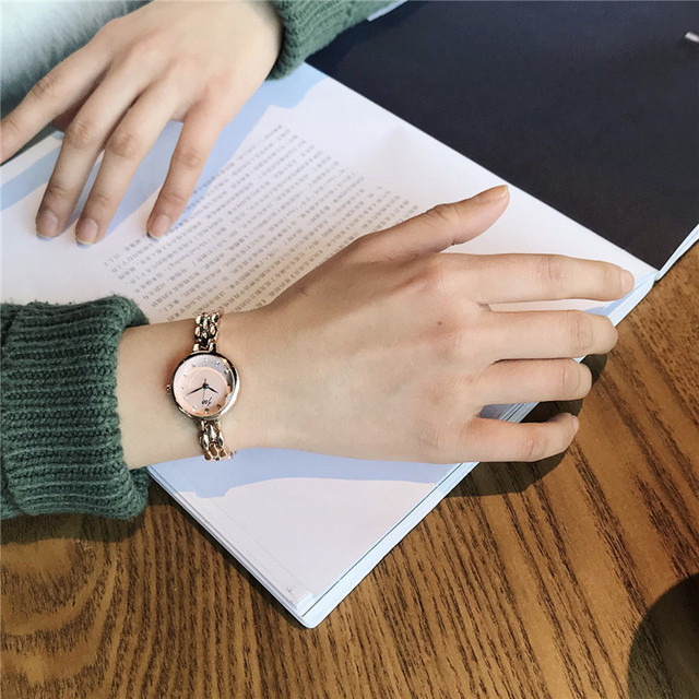Top brand luxury bracelet watches for women 2018 women's fashion stainless steel