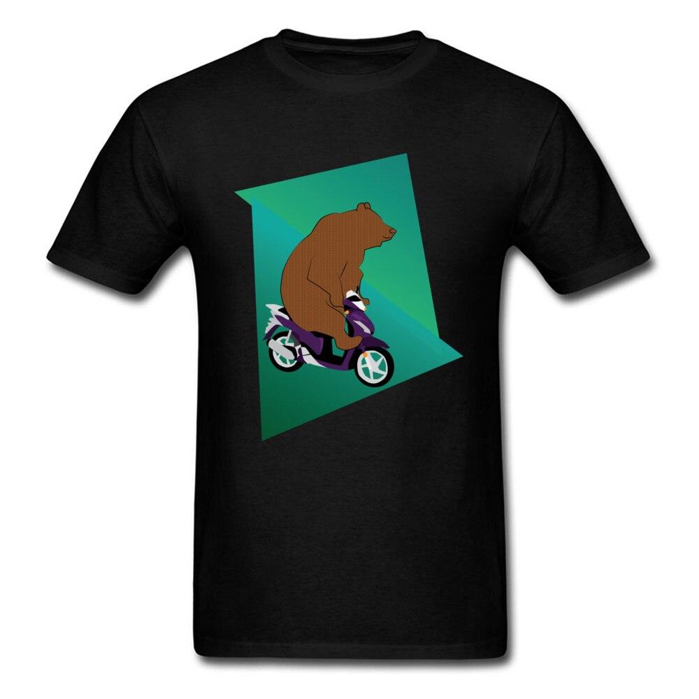 BearrPed Mens Brand New Slim Fit Tops Shirt Round Collar Summer 100% Cotton T-Shirt Design Short Sleeve Sweatshirts