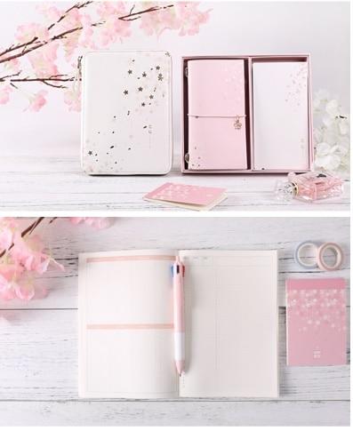 Zamx Sakura planificador papelería supplyer Rosa Sakura serie para