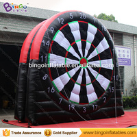 16ft/5m inflatable soccer dart board shooting game with sticky balls, football dart shooting game