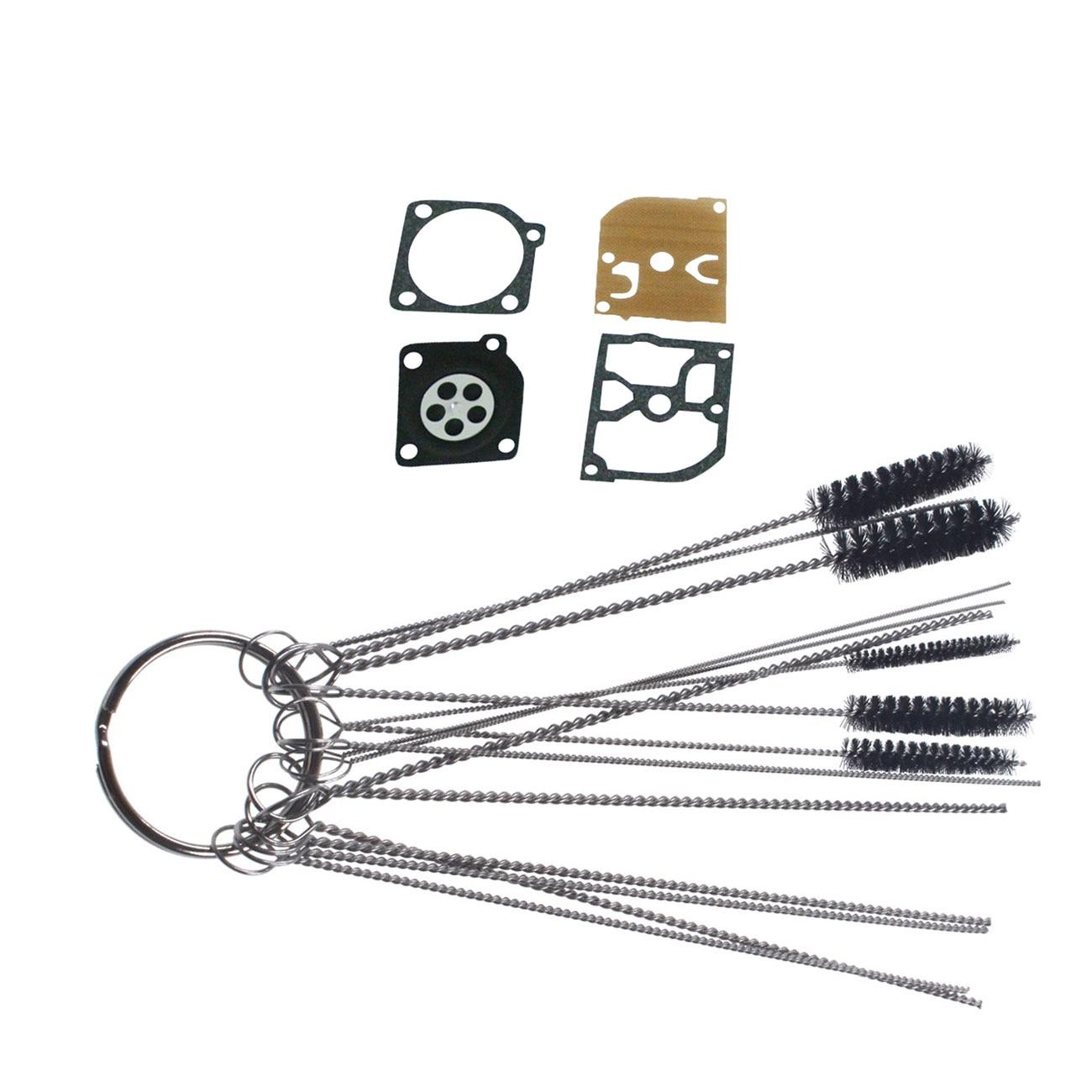 Cleaning Brush Diaphragm Rebuild Kit Fit Stihl MS210 MS230 MS250 Zama RB-105
