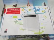Huawei B593u-12 4G LTE Беспроводной CPE Router100Mbps Wi-Fi Hotspot Sim-карты + 2 шт. B593 белый антенна