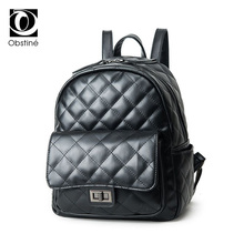 Консервативный Стиль искусственная кожа рюкзаки для женщин черный рюкзак женский Дамская сумка школьная сумка для девочек Женская дорожная сумка