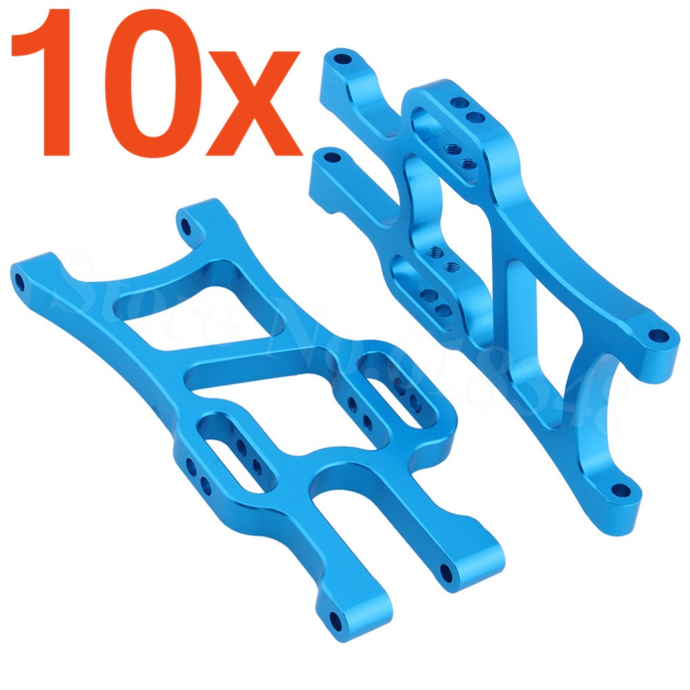 Wholesale 10Pair Lot HSP 108019 Aluminum Front Lower Suspension Arm 08005 For Monster Truck 1 10