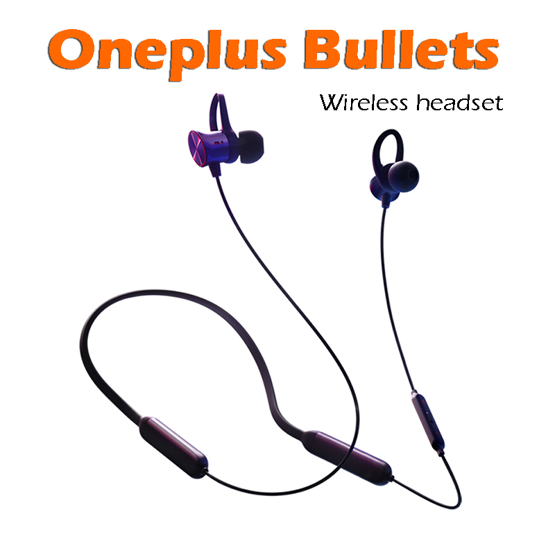 Original Oneplus Bullets Wireless Headset In Ear With Remote Mic For Oneplus 6/5T /5/3T/3 Mobile