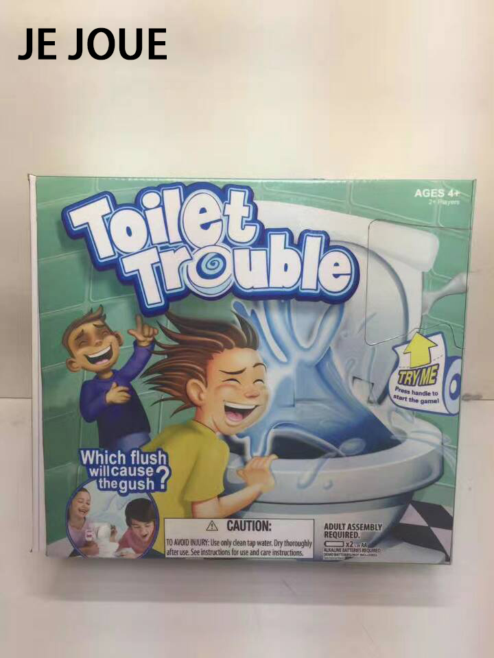 2017 New Super Fun Game Toy Toilet Trouble Mini Funny Toy For