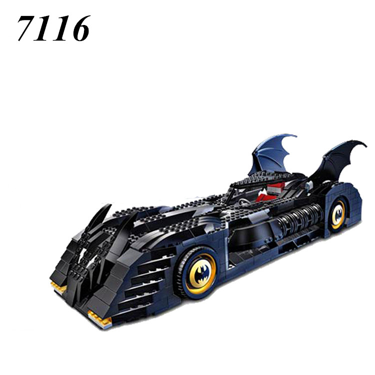 AIBOULLY 7116 The Tumbler BatMobile Compatible with 7784 Super Heroes Batman Building Blocks Educational Toys For Children 7784