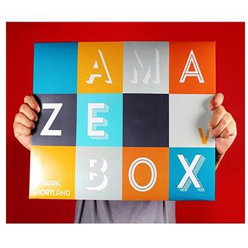 Livraison gratuite nouvelle AmazeBox tour de magie carte illusion magique mentalisme comédie accessoires