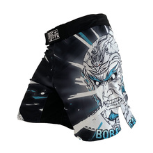 купить MMA shorts men's kick boxing trunks fitness gym BJJ shorts mma muay thai training short по цене 781.57 рублей