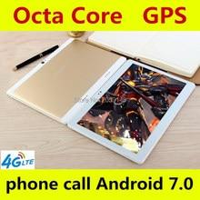 DHL Бесплатная доставка 10 дюймов Tablet PC Octa core 4 ГБ Оперативная память 32 ГБ/64 ГБ Встроенная память dual sim карты Android 7.0 GPS Планшетный ПК 10 10.1 + подарки