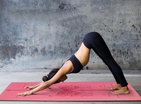 185*68 cm * 5mm Yoga Esterilla Caoutchouc Naturel Antidérapant Perdre Du Poids Coussin Exercice Gym Aérobic pad Garder la Forme Tapis de Fitness Tapis De Yoga