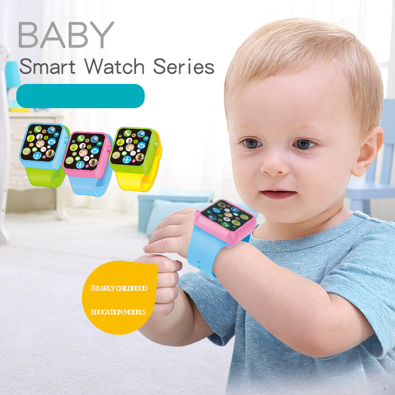 Fashion Children Color Touch Screen Multi-function Intelligent Childrens Watch Story Machine Musical Toy Educational Toys A31