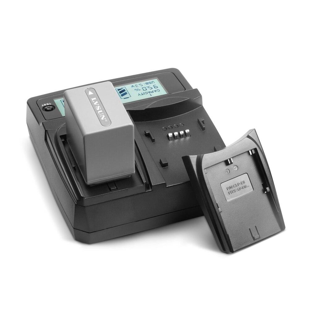ICV DCLP-E6 LP E6 LPE6 LC-E6 Battery Dual Home + Car Camera Charger For CANON DSLR EOS 60D 5D3 7D 6D 70D 5D Mark II, 5D Mark III цена и фото