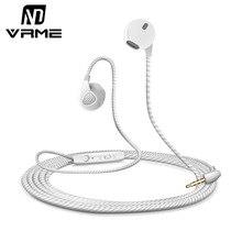 Vrme Sport Earphone Mobile Phone Earphones and Headphone with Microphone 3 5mm jack Stereo Headset Earbuds