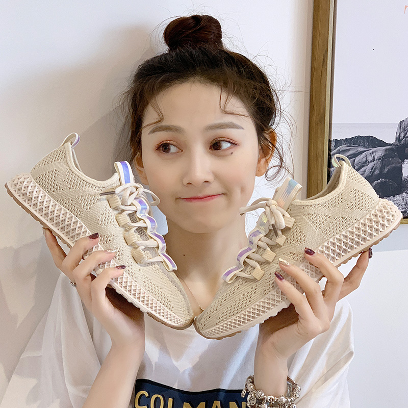 2019 summer shoes fly woven mesh breathable single shoes wild casual sports shoes womens shoes women sneakers2019 summer shoes fly woven mesh breathable single shoes wild casual sports shoes womens shoes women sneakers