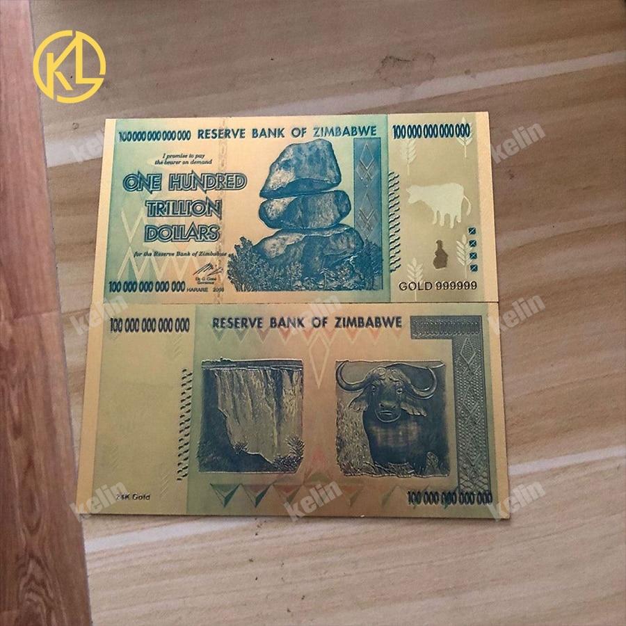 200 x 5 /& 10 Billion Dollars-paper money currency 400 Zimbabwe Banknotes