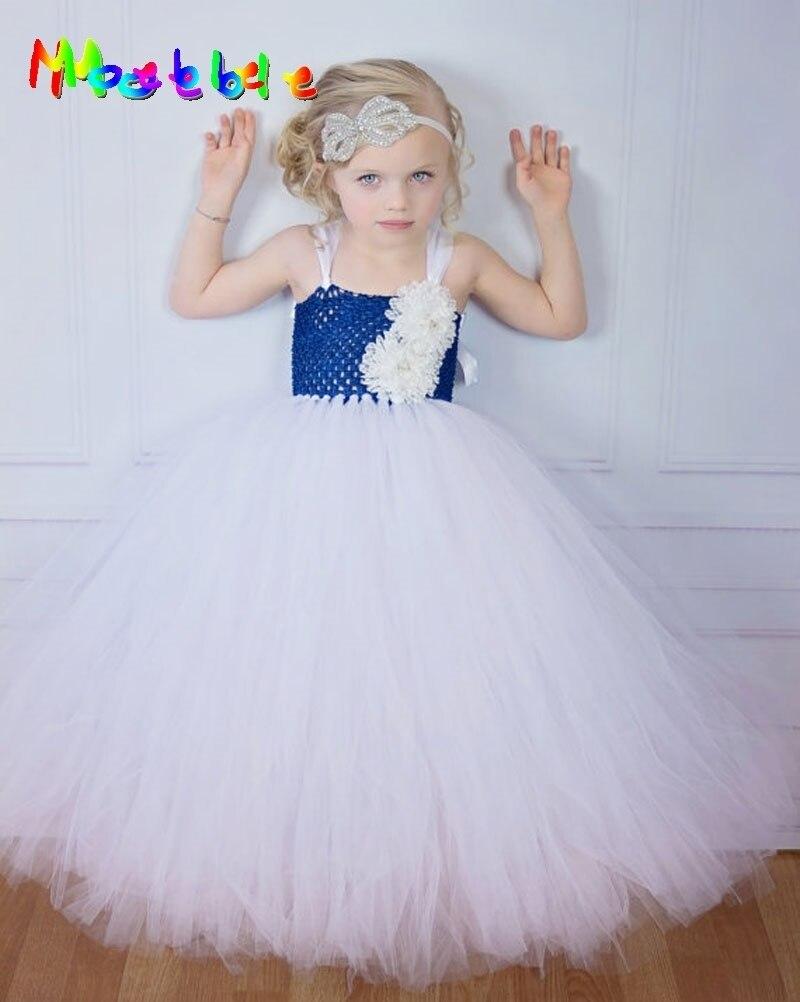 497ee76a33972 Şerit Yay Prenses Kız Parti Elbise Çiçek Tutu Elbise için Düğün Doğum Günü  Festivali Çocuk Cosplay Kostüm Dans Balo elbisesi