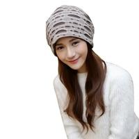Women Pleated Ruffle Stretch Turban Hat Hair Wrap Cover Up Sun Cap Bonnet Soft