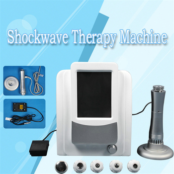 German Imported Compressor Shock wave machine 5 Bar Shockwave Therapy Machine Extracorporeal Shock Wave Therapy Equipment CE