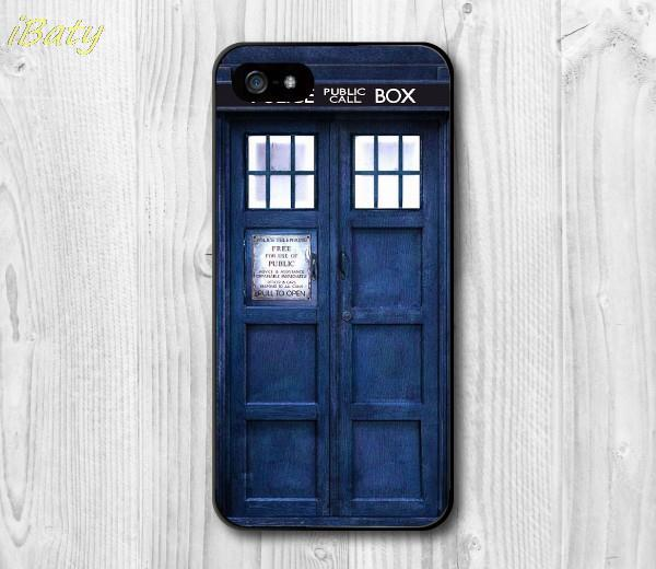 Tardis Doctor Who Police Box Cover for iPhone 4 4s 5 5s 5c 6 6s plus Case