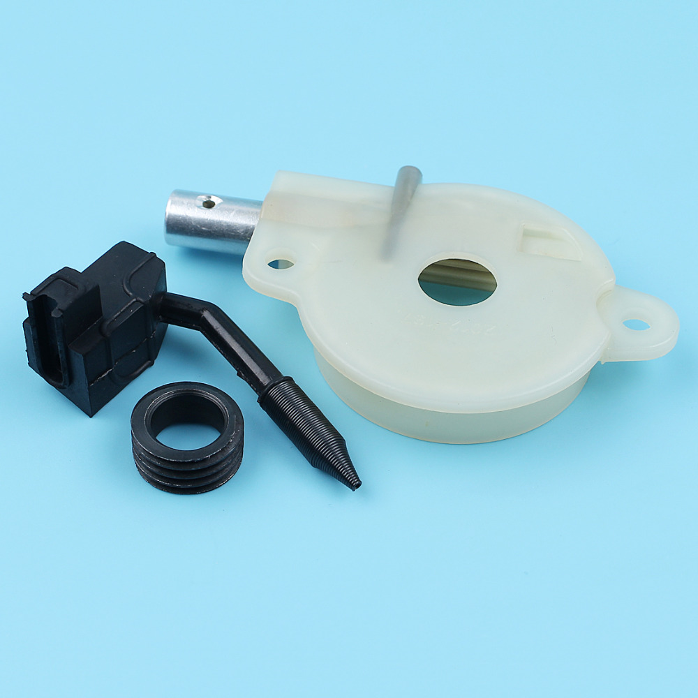 Oil Pump Assy W/ Worm Gear Kit For Husqvarna 136 137 141 142 36 41 Jonsered 2036 2040 CS2040 Chainsaw #5450368-01