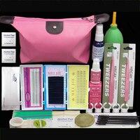 Professional Makeup Eyelashes Extension Curler Kit False EyeLash Lashes Makeup Set Eyelash Extension Tool Kit Make up Set