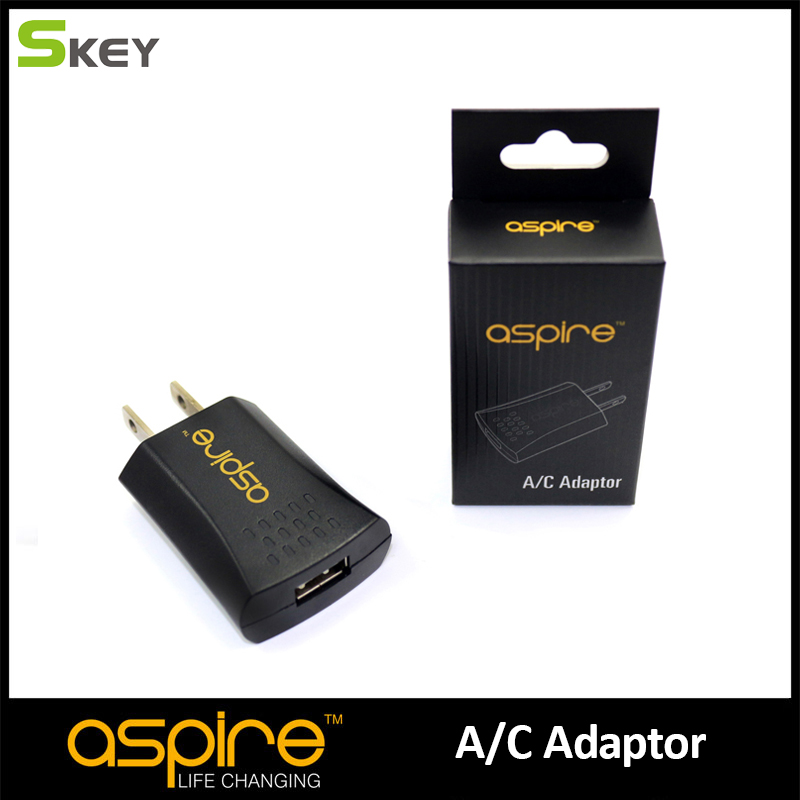 E cigarette Accessories Aspire Brand E cigs USB Ego Charger A C Adaptor Compatible with US