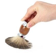 Помазок барсук парикмахерская смолы борода бритья красота чистая салон очистки лица