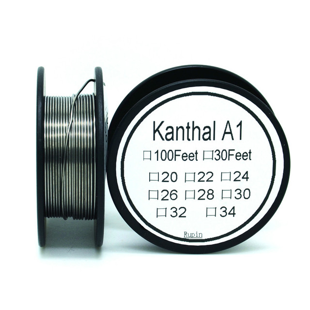 Cantal 36 Gauge 100FT 0.1mm Nichrome wire Resistance Resistor AWG ...