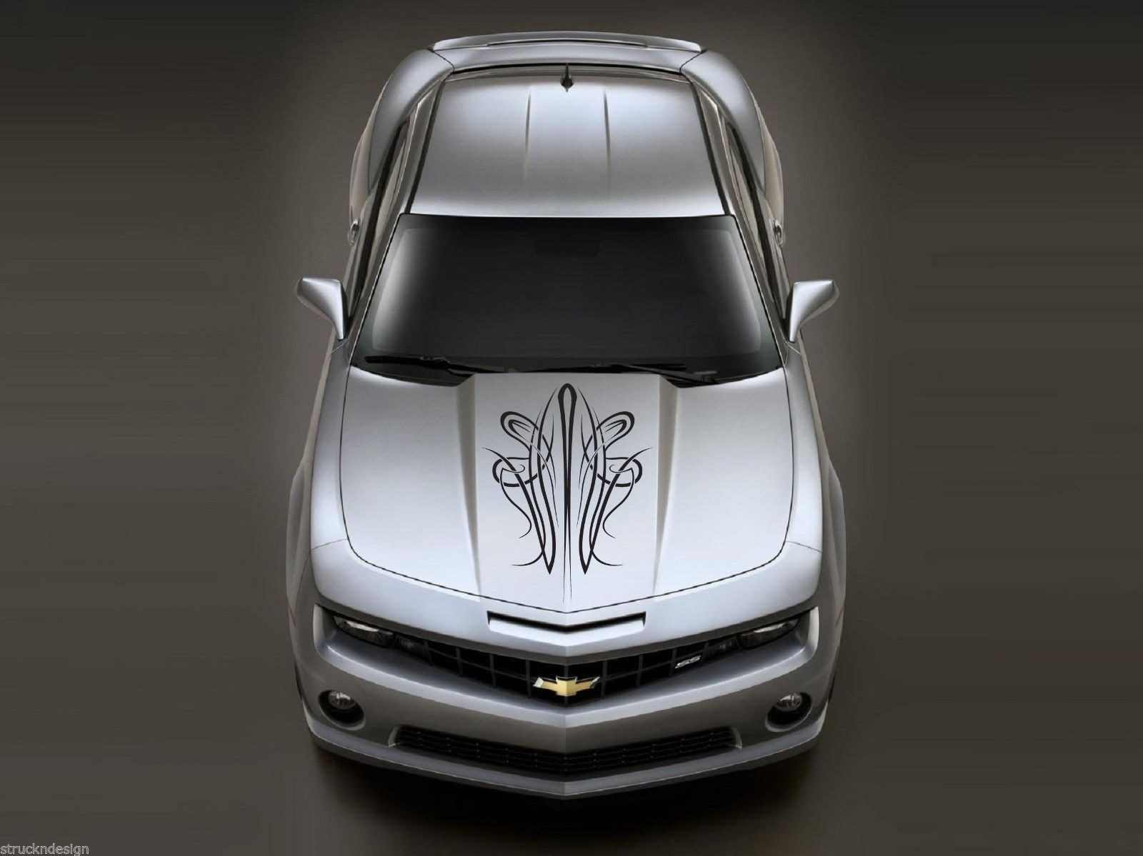 For Classic Pinstripe Vinyl Hood Reflective Decal Sticker Car Van Vehicle Truck SUV