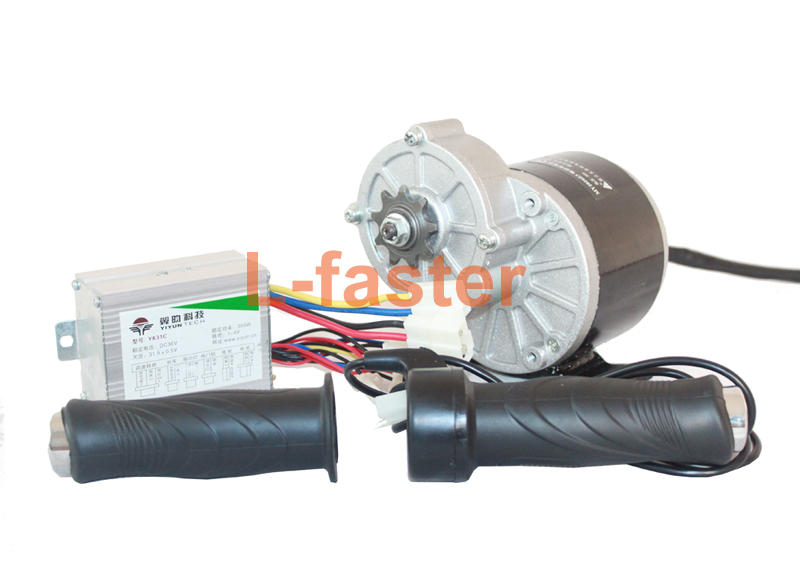 24v36v 350w Electric Motor Controller Twist Throttle