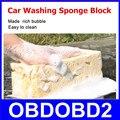 Fácil de Limpar a Lavagem Do Carro Esponja Ferramenta de Limpeza do Veículo Bloco Amarelo Honeycomb Coralline Lavadora Fazer Bolha Rica Multi Função