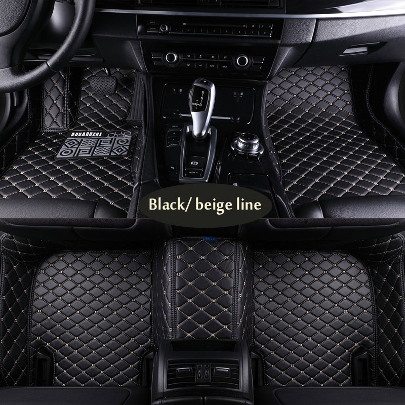 Car floor mats for Chrysler Sebring 300C PT Cruiser Grand Voyaer fit Hummer H2 for SWM X3 SWM X7 PU leather Car carpet цена