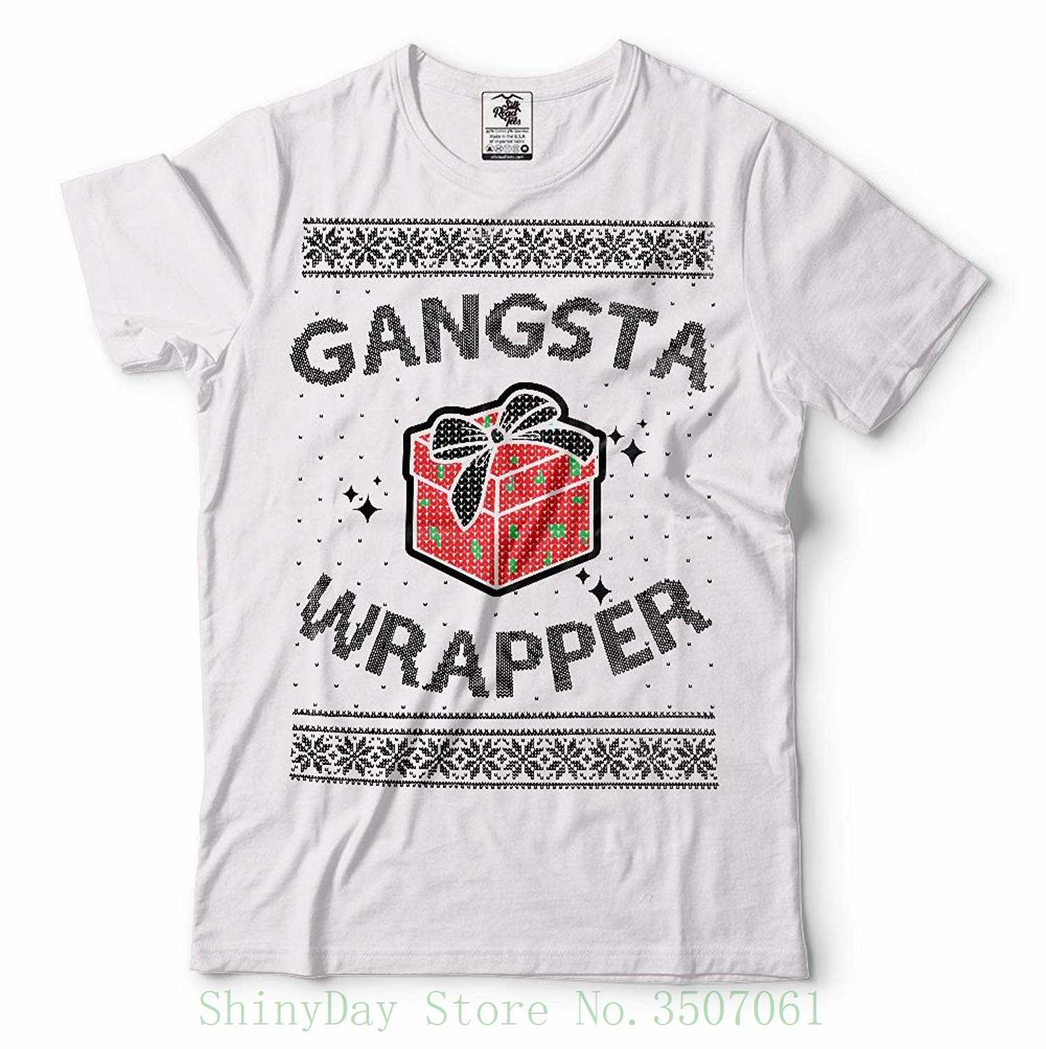 02b9842e Detail Feedback Questions about Gangsta Wrapper Ugly Christmas Sweater  Funny T shirt Men T Shirt Cheap Sale 100 % Cotton on Aliexpress.com    alibaba group