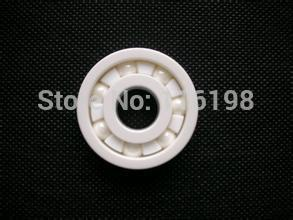 high speed 608 ZrO2 full ceramic ball bearing 8x22x7mm skatebord bearing Zirconia skate bearing
