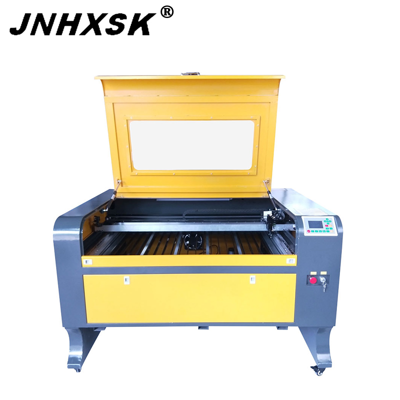 JNHXSK TS1080 Laser Cutter Fence Blade Work Table Ruida 6442s Controller Laser Cuttitng Machine With PMI Slideway