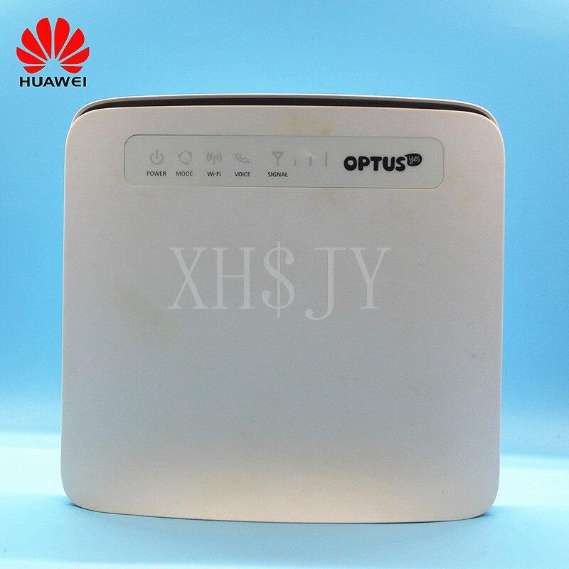 Sbloccato Utilizzato Huawei 3G/4G Router E5186 E5186s-61a 4G LTE CPE Router Wireless con Antenna 4G CPE Router con Slot Per SIM Card