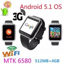Smartwatch Bluetooth Android 5.1 Q1 Armbanduhr WiFi GPS 4 core MTK 6580 unterstützung Koreanische Armbanduhr browser wetter weitere apps