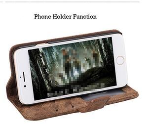 Image 3 - Funda de teléfono de lujo Funda de cuero con tapa para samsung Galaxy S5 S6 S7 S8 S9 plus Note 5 completa funda portatarjetas en efectivo