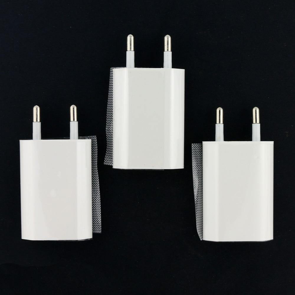 bilder für 20 stücke eu-stecker für iphone 4 4 s 5 5 s 5c se usb wand ladegerät adapter für iphone 7 7 plus 6 6 s reise für samsung lg Etc