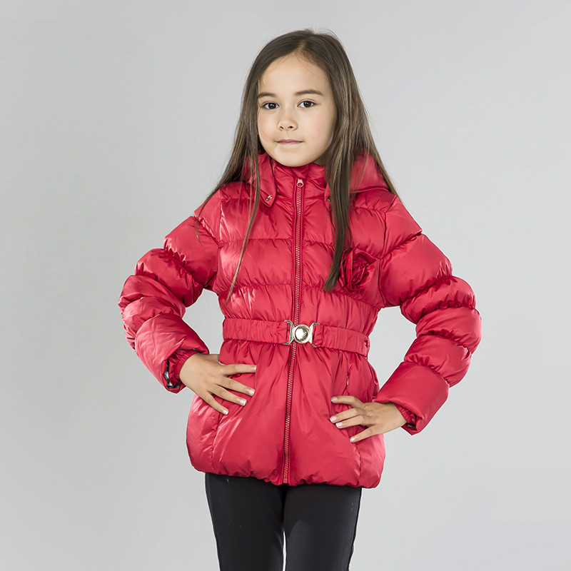 2015 Winter Jacket For Girls Long Down Jacket Parka Sweet Princess ...