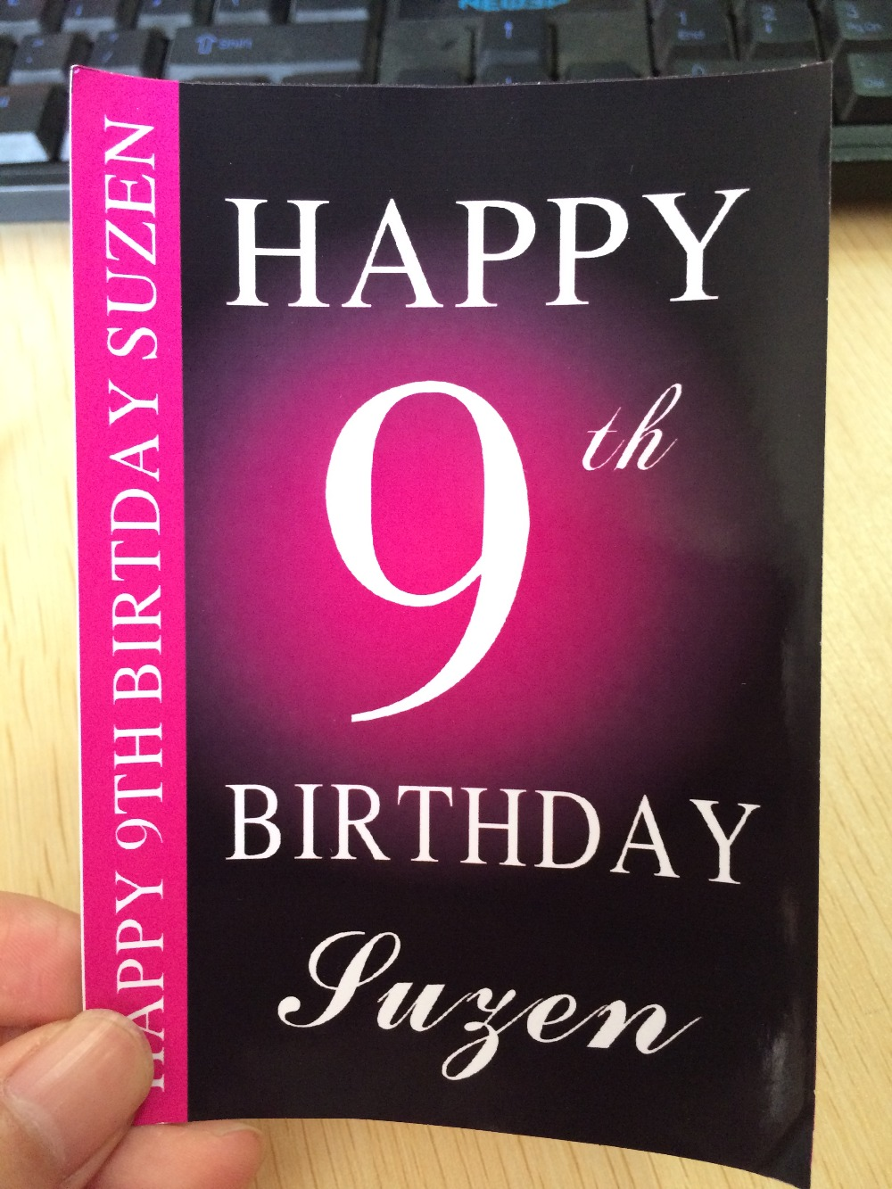 10 CT custom Personalised Wine Champagne Bottle Label Birthday Gift ...